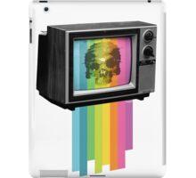 Television Melt iPad Case/Skin