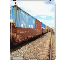 train is a coming iPad Case/Skin