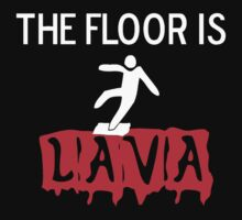 THE FLOOR IS LAVA Kids Clothes