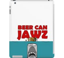 BEER : BEER CAN JAWZ iPad Case/Skin