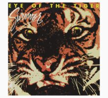 Eye of the tiger Album cover shirt Kids Clothes
