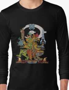 """Halo Inspired Maya design """"Gods Among""""  Long Sleeve T-Shirt"""