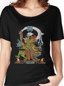 "Halo Inspired Maya design ""Gods Among""  Women's Relaxed Fit T-Shirt"
