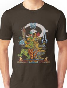 """Halo Inspired Maya design """"Gods Among""""  Unisex T-Shirt"""