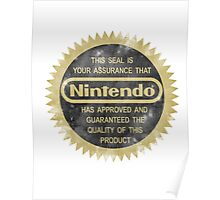 Nintendo Seal of Quality Poster