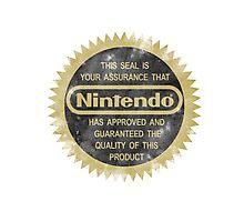 Nintendo Seal of Quality Photographic Print