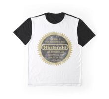 Nintendo Seal of Quality Graphic T-Shirt