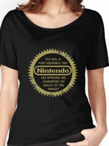 Nintendo Seal of Quality Women's Relaxed Fit T-Shirt