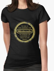 Nintendo Seal of Quality Womens Fitted T-Shirt