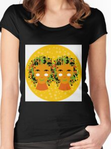 Gemini or twins zodiac sign Women's Fitted Scoop T-Shirt