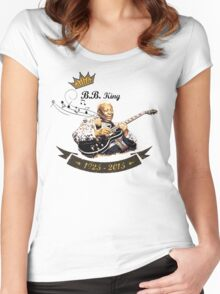 B.B. King - Rest In Peace Women's Fitted Scoop T-Shirt