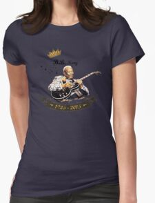 B.B. King - Rest In Peace Womens Fitted T-Shirt