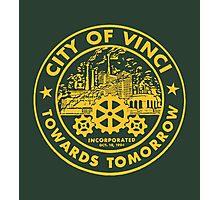 True Detective - City of Vinci logo or Photographic Print
