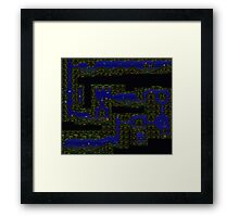 Coral Capers Framed Print