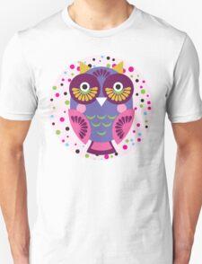 Purple owl T-Shirt