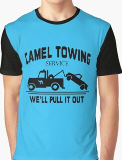 Camel Towing funny nerd geek geeky Graphic T-Shirt
