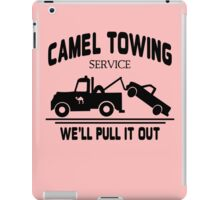 Camel Towing funny nerd geek geeky iPad Case/Skin
