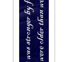 Edgar Allen Poe Annabelle Lee Sticker