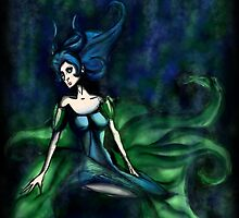 Green Goddess by Alienzombie13