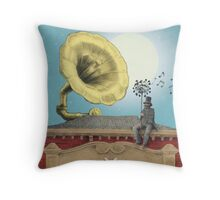 The Music Hall Throw Pillow