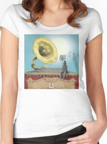 The Music Hall Women's Fitted Scoop T-Shirt