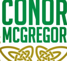 Conor McGregor - Limited Edition Sticker