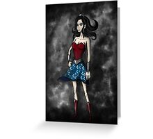 Gothic Wonder Greeting Card