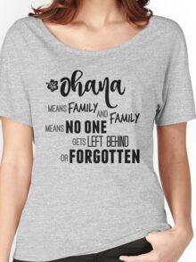 Ohana Women's Relaxed Fit T-Shirt