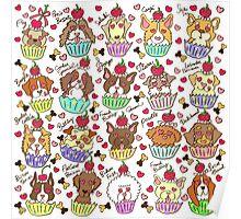 Cupcake Dogs - Gorgo Version Poster