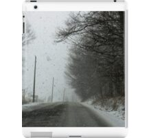 Snow - driving time (2016) iPad Case/Skin