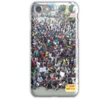 Private university students in Dhaka protest VAT on tuition fees iPhone Case/Skin