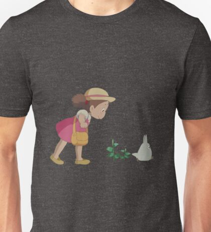 Mei & Chibi Totoro Unisex T-Shirt