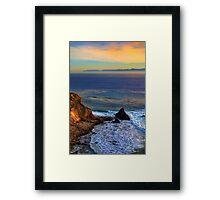 Pelican Cove In Rancho Palos Verdes  Framed Print