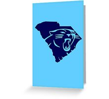 Carolina Panthers South funny nerd geek geeky Greeting Card
