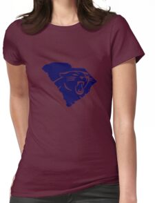 Carolina Panthers South funny nerd geek geeky Womens Fitted T-Shirt