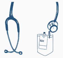 Grey's Anatomy - stethoscope  Kids Clothes