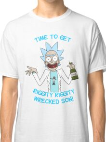 rick and morty, rick, morty, cartoon, funny, wuba, riggity, dab on them folk, cam newton. Classic T-Shirt