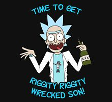 rick and morty, rick, morty, cartoon, funny, wuba, riggity, dab on them folk, cam newton. Unisex T-Shirt