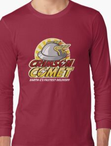 Crimson Comet Delivery Long Sleeve T-Shirt