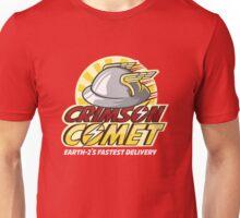 Crimson Comet Delivery Unisex T-Shirt