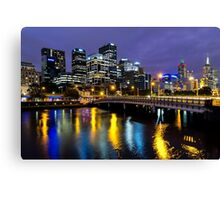 When The Lights Come On Canvas Print