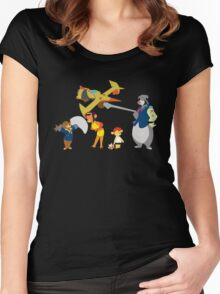 Talespin Bebop Women's Fitted Scoop T-Shirt