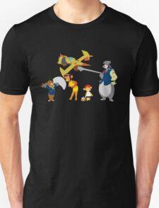 Talespin Bebop - The Full Crew T-Shirt