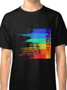 Faded retro pop spectrum colors Classic T-Shirt
