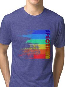 Faded retro pop spectrum colors Tri-blend T-Shirt