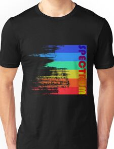 Faded retro pop spectrum colors Unisex T-Shirt