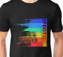 Faded retro pop spectrum colors Unisex T-Shirt
