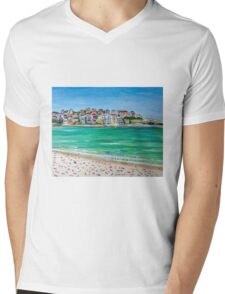 Bondi Ink......and acrylic Mens V-Neck T-Shirt