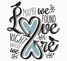 Love is Right Where We Are : Blue Kids Clothes