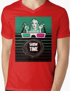 Show time Mens V-Neck T-Shirt